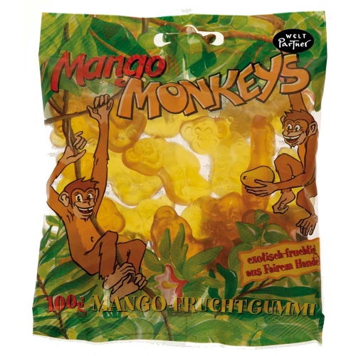 Bio Pröbchen Mango-Monkeys 24g