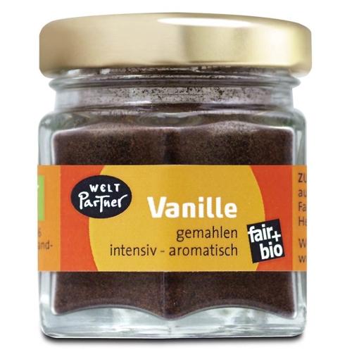 Bio Vanille im Glas, gemahlen 10g
