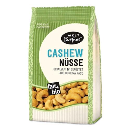 Bio Cashews, geröstet, gesalzen125g