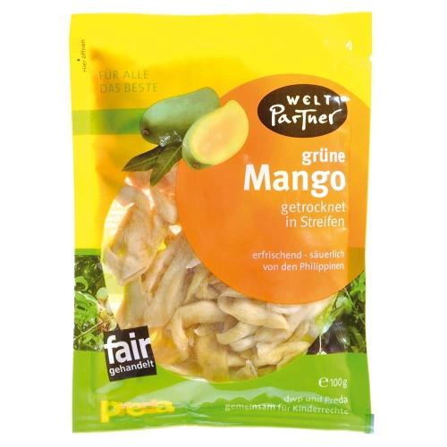Grüne Mangos, getrocknet 100g