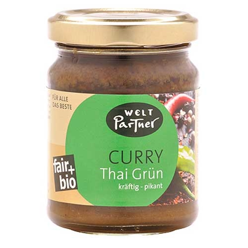 Bio Curry Thai Grün, pikant 125g