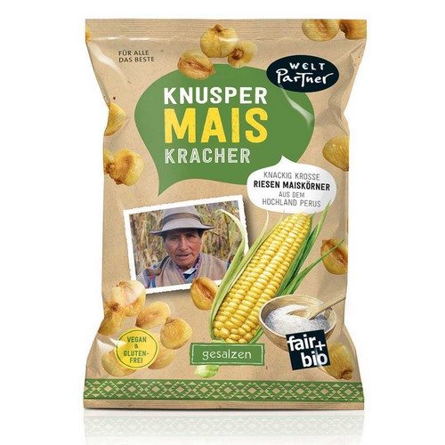BioKnusper MaisKracher, VEGAN,100g