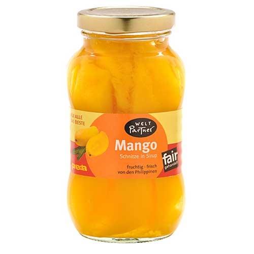 Mango Schnitze in Sirup 225g
