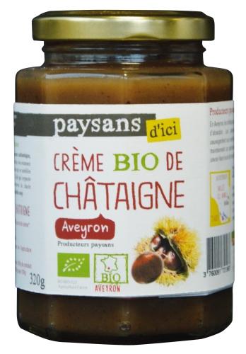 Bio Crème de Chataigne Aveyr. 320g