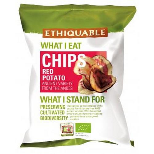 Chips pomme de terre rouge100g