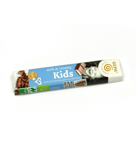 Bio milk & creamy Kids 37,5g