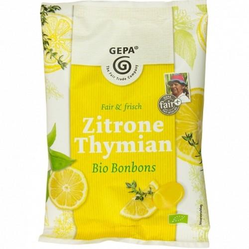 Bio Zitrone Thymian Bonbons 100g