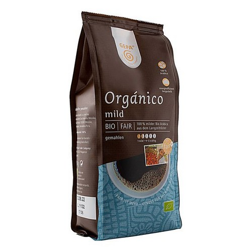 Bio Schonkaffee, gem./moulu 250g