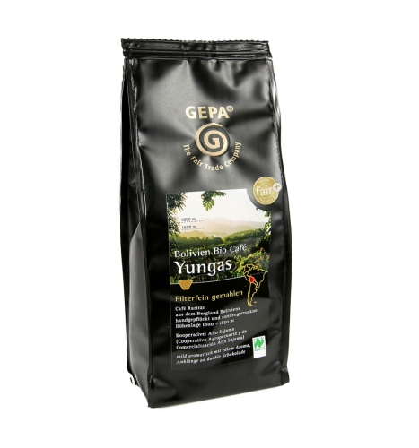 Bio Bolivien Cafe Yungas 250g