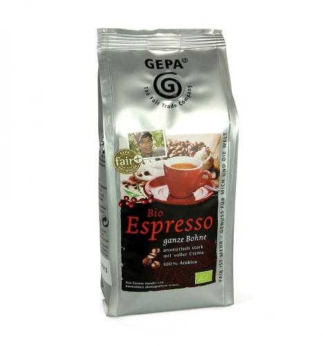 Bio Espresso ganze Bohne 250gr