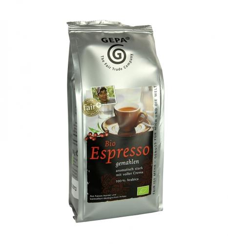 Bio Espresso gemahlen 250g