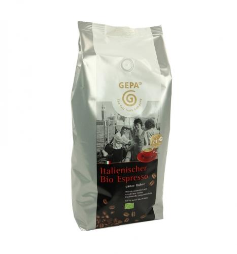 Bio Italienische Espresso Bohne 1kg