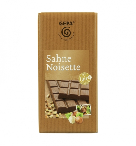 Sahne Noisette 100g