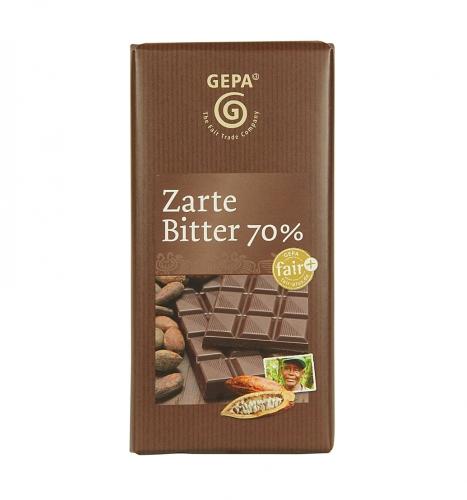 Zarte Bitter 70% Cacao 100g