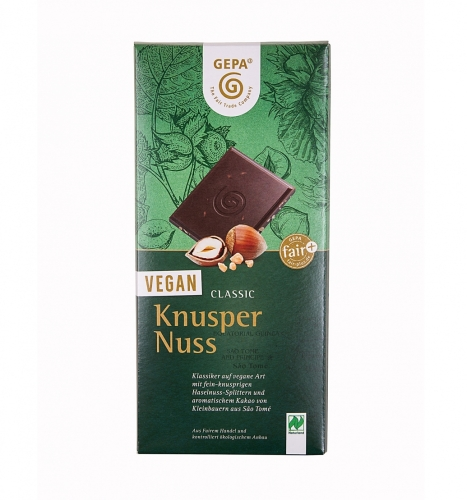 BIO Knusper Nuss VEGAN 100g