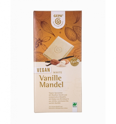 BIO White Vanille Mandel VEGAN 100g