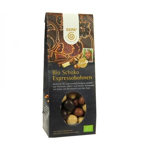 Bio Schoko-Espressobohnen 100g