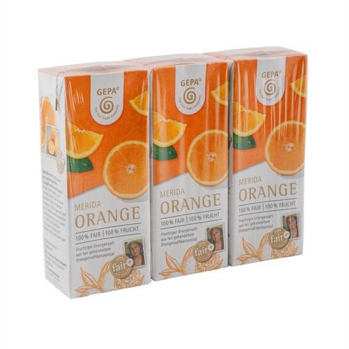 Orangensaft Merida 3x0,2l