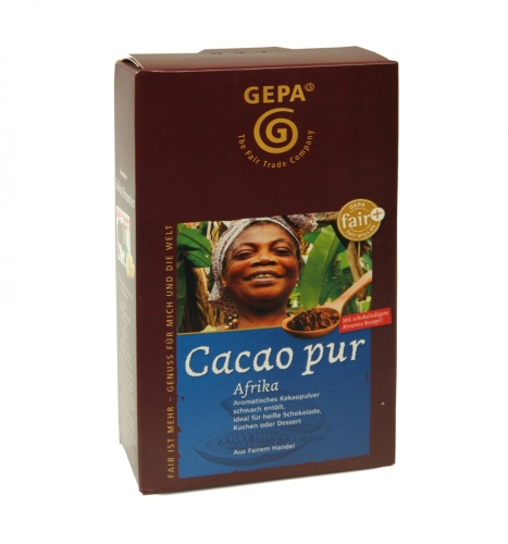 Cacao PUR Afrika 250g