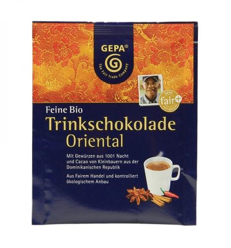 Bio Trinkschokolade Oriental50x15g