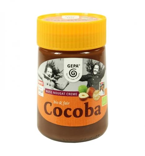 Bio Cocoba Nuss-Nougat crème 400g