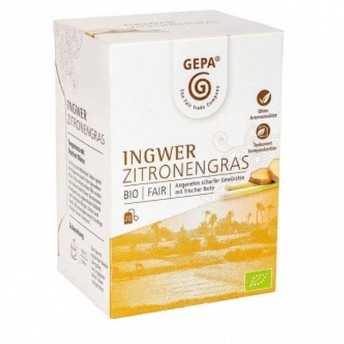 Bio Ingwer Zitronengras 20x1,5g