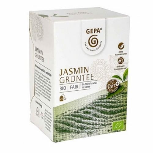 Bio Grüntee Jasmin 20x1.5g