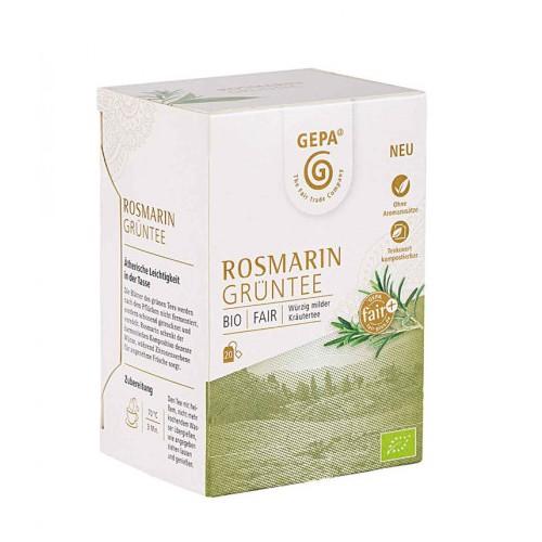 Bio Rosmarin Grüntee 20x1,7g Beutel