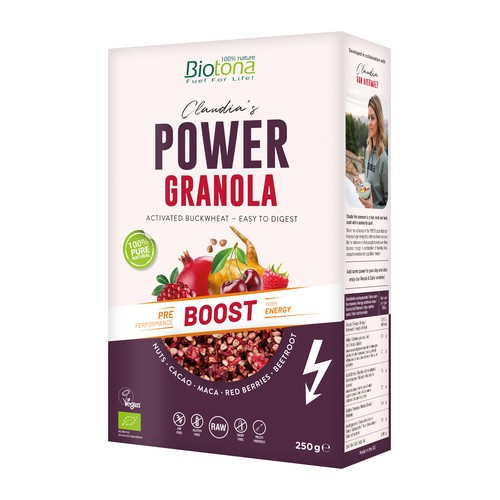 Biotona Power Granola Boost 250g