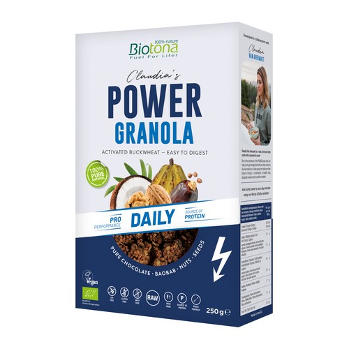 Biotona Power Granola Daily 250g