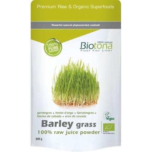 Biotona Bio Barley Grass raw 200g