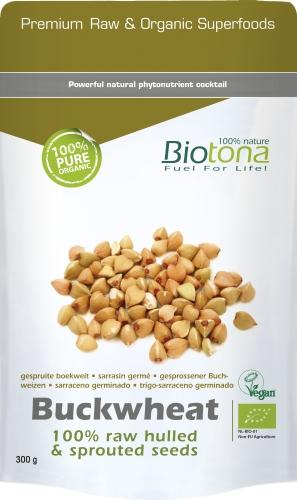 Biotona Bio Buckwheat seeds 300gr