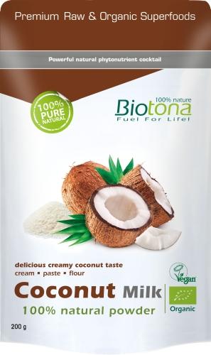 Biotona Bio Coconut Milk powd.200gr