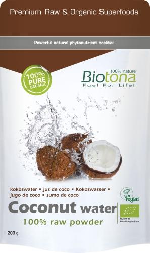Biotona Bio Coconut poudre 200gr