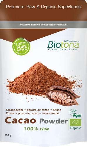 Biotona Bio Cacao raw powder 200gr