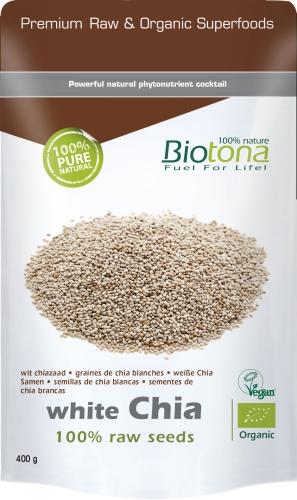 Biotona Bio White Chia seeds 400gr