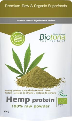 Biotona Bio Hemp protéine 300gr