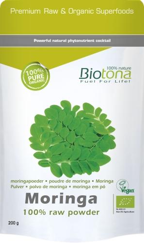 Biotona Bio Moringa raw powd.200gr