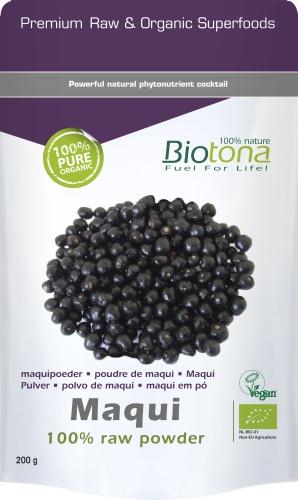 Biotona Bio Maqui raw 200gr