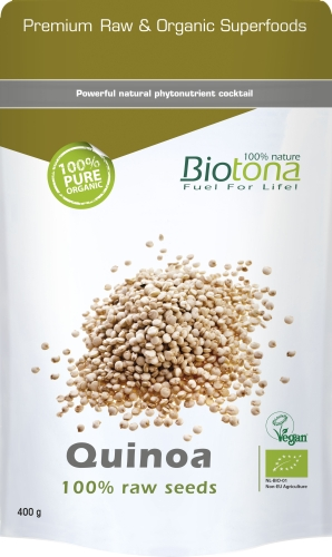Biotona Bio Quinoa raw seeds 400g