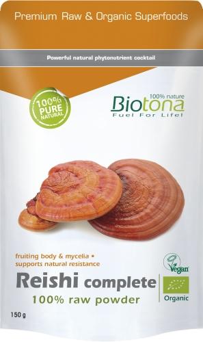Biotona Bio Reishi compl powd 150g