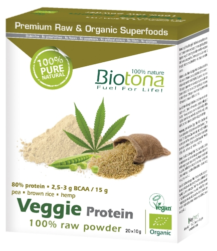Biotona Bio Veggie Protéin 20x10gr