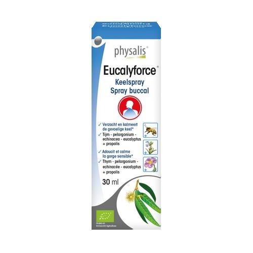 Bio Eucalyforce spray bucal 30ml.