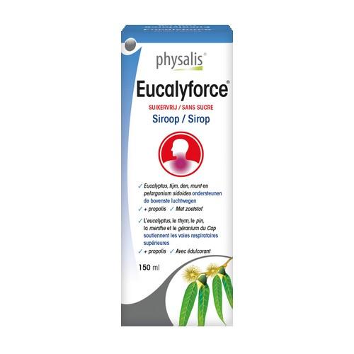 Sirop Eucalyforce sans sucre 150ml