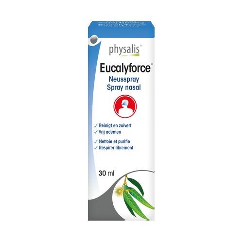 Eucalyforce spray nasal 30ml.