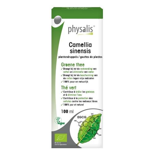 Physalis Gouttes Camellia Bio 100m
