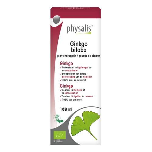 Physalis Gouttes Ginkgo Bio 100ml