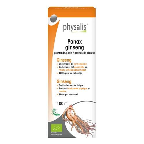 Physalis Gouttes Panax G. Bio100ml