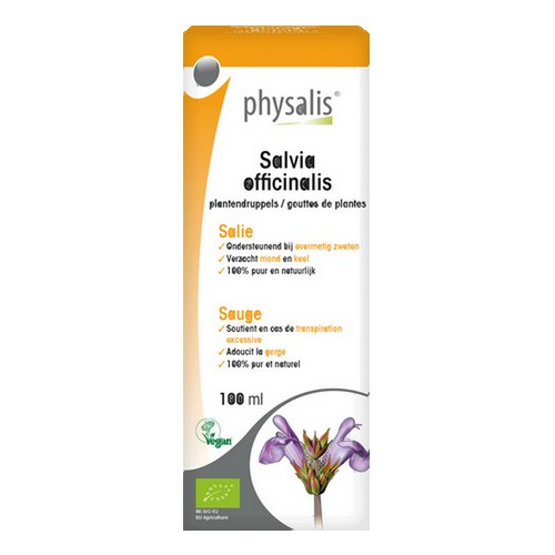 Physalis Gouttes Salvia Bio 100ml