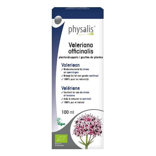 Physalis Gouttes Valériane Bio100ml